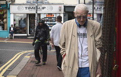 Timeslip (markfly1) Tags: brighton all yound dudes very cool old guy great banter made me smile lot uk street candid nikon d750 35mm