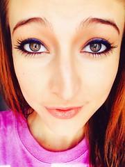 (Baylee_Farris) Tags: girl model makeup greeneyes blueeyeliner