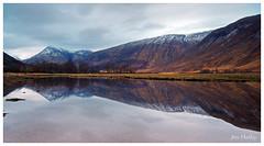 Loch etive reflection.