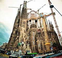 Work in progress (Sbastien Munoz) Tags: barcelona sagradafamilia barcelone