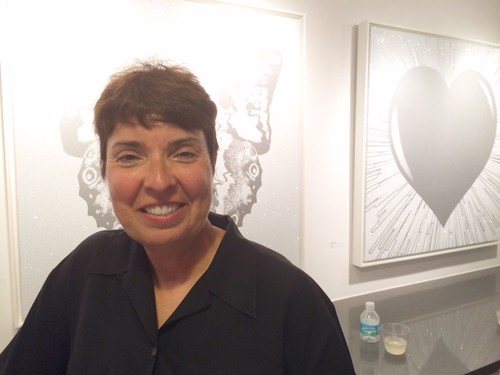 Williams McCall co-owner Dawn McCall at the gallery opening for Rubem RobierbllSizeRender