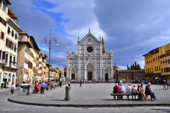 Firenze (agabarka) Tags: city italy church clouds landscape florence tuscany d90 nikon90