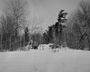 Malagash in Snow #2 (chrism229) Tags: blackandwhite film monochrome analog landscape diafine analogue chamonix largeformat schneider ilfordfp4 epson4870 127mmf47 045n2