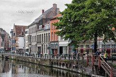 _MG_8463 (Christian Panofsky) Tags: street door city travel summer people building window water june architecture cityscape belgium structure ghent gent channel gand flanders belgio 2013 fiandre
