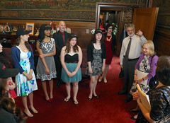 Stop the Hate®: Youth Speak Out finalists meet Mayor Jackson