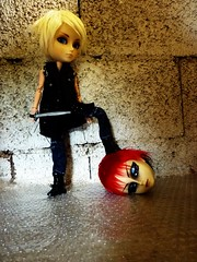 Murder in the castle (luxymie) Tags: castle doll murder hash arion taeyang
