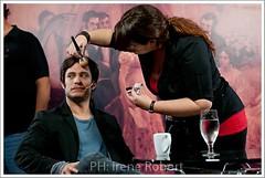 in action (natachasalazar) Tags: puerto tv makeup actor cultura gaelgarciabernal