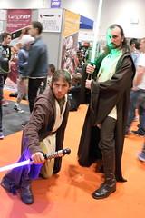 Jedi Cosplayers (NekoJoe) Tags: uk england london geotagged starwars cosplay unitedkingdom jedi cosplayers mcm quigonjinn gbr londonexpo ldn quigon excelcentre mcmlondonexpo londoncomiccon mcmlondoncomiccon may2015 geo:lat=5150753380 geo:lon=002913952 mcmldn15 mcmlondoncomicconmay2015 mcmlondonexpomay2015