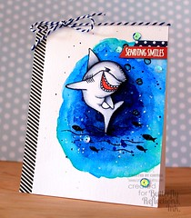 Keep Smiling... (Chitra Nair.) Tags: cards handmade coloring cardmaking handmadecards papercrafting watercoloring averyellestamps kuretakegansaitambi gansaitambiwatercolors