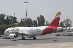 EC-IEF Airbus A.320-214 Iberia (pslg05896) Tags: morocco airbus marrakech rak menara a320 iberia gmmx ecief