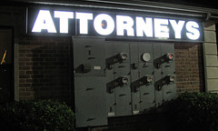 Power of Attorneys (Eyellgeteven) Tags: white building sign electric night court word outside words wire wiring power letters utility illuminated nighttime crime wires electricity law meter practice lettering lawyers electrical meters lawyer electriccompany representation attorney powersupply powered electricmeter litup attorneys powerofattorney electricsupply illuminatedsign lawpractice justicesystem powerofattorneys eyellgeteven
