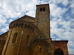 Collegiata (SixthIllusion) Tags: travel italy church architecture ancient medieval medievale emiliaromagna medioevo castellarquato
