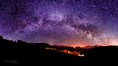 MIlchstrasse in Fatschl GR / Milky Way in Fatschl Switzerland (Explored...thank you so much!)  (Claudia Bacher Photography) Tags: panorama night wow stars schweiz switzerland suisse nacht brilliant sterne milkyway graubnden milchstrasse schanfigg fatschl