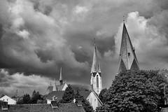 ber den Dchern von Kamen (Uwe M@nzke) Tags: kirche stadt turm kamen schiefer