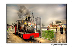 ON THE MOVE (Derek Hyamson) Tags: liverpool transport steam hdr albertdock