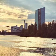 Seen yesterday Sunset Frankfurt #sunset #sonnenuntergang #frankfurt #main #ffm #skyline (Andr Revuelto) Tags: sunset skyline square sonnenuntergang frankfurt main squareformat frankfurtammain ffm iphoneography instagramapp