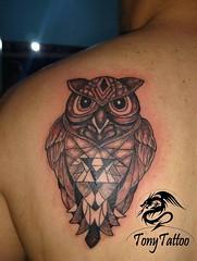 13329407_997642456985105_102771905324770404_00 (TonyTattoo) Tags: tatuagem coruja tattoo owl tony natal rn