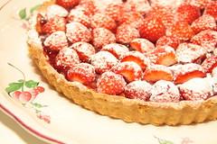 aardbeientaartje met frangipane (ellenbouckaert) Tags: frangipane confiture aardbeien aardbeientaartje