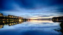 Bedok Reservior (rencypoh) Tags: longexposure sunset nature landscape singapore cityscape slowshutter fujifilm fujinon reservior singaporeskyline mirrorless photoscape bedokreservior fujifilmxe2 fujinon1024mm fujinon1024 fujifilmmirrorless