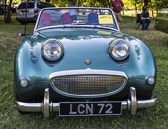 Big Smile - Happy Face (Kool Cats Photography over 7 Million Views) Tags: green canon photography sportscar austinhealey ef24105mmf4lisusm canoneos6d