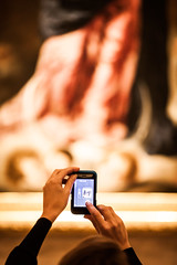Did You Like It? (Thomas Hawk) Tags: usa boston museum painting unitedstates julia massachusetts unitedstatesofamerica meta spouse wife juliapeterson fav10 museumoffineartsboston fav25 bostonartmuseum mrsth
