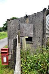 Parracombe Halt (R~P~M) Tags: uk greatbritain england building abandoned station train concrete unitedkingdom railway devon disused narrowgauge southernrailway halt lyntonbarnstaplerailway