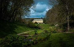 Pencarrow House (Edd144) Tags: blue house green home grass gardens dark nikon cornwall moody sigma stormy stately 1835 pencarrow d7100