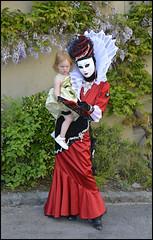 (wilphid) Tags: costume carnaval lman masque hautesavoie yvoire carnavalvnitien paradevnitienne