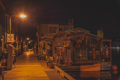 Houseboats Fishermans Wharf (jsnmckenzie) Tags: night nikon bc britishcolumbia victoria vancouverisland wharf fishermans houseboats victoriabc jamesbay nikor cans2s d7200