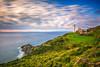 Sarpincik Lighthouse (Nejdet Duzen) Tags: longexposure trip travel sea nature turkey landscape türkiye deniz izmir karaburun manzara turkei seyahat doğa uzunpozlama sarpıncıkfeneri sarpinciklighthouse