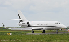 DB Service Company Falcon 2000EX N805DB (birrlad) Tags: ireland airplane airport taxi aircraft aviation airplanes jet db company shannon falcon vip service 24 passenger departure takeoff runway departing dassault taxiway bizjet snn 2000ex n805db