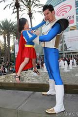 WonderCon2014 425-209 (Bryanakin) Tags: costumes ball wonder asian costume dragon cosplay superman supergirl anaheim con dragonball vegeta wondercon 2015 wondercon2014 wondercon2015