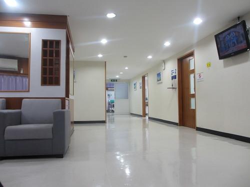 Chiang Mai Ram hospital - waiting room