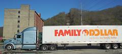 Family Dollar Truck (xandai) Tags: county retail kentucky ky harlan