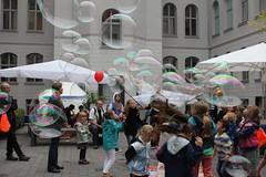 Seifenblasenfabrik Bubblebo Seifenblasenshow beim Tag der offenen Tür im Bundesministerium für Landwirtschaft 0