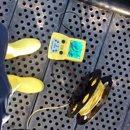 Por lo menos las botas combinan con el controlador y el cable #nohomo xD #deeptrekker #guaitecas #botasamarillas