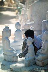 Stone Mason at Work (Rickloh) Tags: travel mason rick samsung myanmar amarapura stonemason nx craftman sculpturing nx30 samsungnx samsungnx30 rickloh nxsg mattermostnx mattersmostnx rickinmyanmar2014