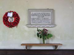 war memorial (Simon_K) Tags: church suffolk churches charles brett samuel clarke eastanglia horace frederick chapman hurrell barnardiston barnadiston