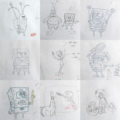 SpongeBob Production Drawings – eBay Auctions (candoartist) Tags: spongebob animation collectible collectibles nickelodeon animationart productioncel productiondrawing