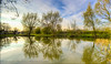 River Weaver (Muzammil (Moz)) Tags: reflections river landscape cheshire unitedkingdom hdr fisheyelens afraaz muzammilhussain canon5dmarkiii canon815mml moz8763gmailcom