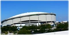 Tropicana Field - St Petersburg, Florida (lagergrenjan) Tags: field st baseball florida stadium petersburg rays tropicana