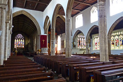 Wisbech, Cambridgeshire, St Peter and St Paul. (Tudor Barlow) Tags: england spring churches cambridgeshire wisbech listedbuilding parishchurch churchinteriors gradeilistedbuilding 1000bestchurches lumixfz200