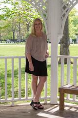 Park042615_2979 (WindJammer Photo) Tags: park portrait black beautiful beauty smile canon 2470mml highheel outdoor gorgeous platform skirt gazebo blonde april wife wedge pleated 2015 60d