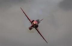 RED ARROWS - 7/5/15 (deltic17) Tags: hawk jet reds bae redarrows raf displayteam theredarrows rafscampton