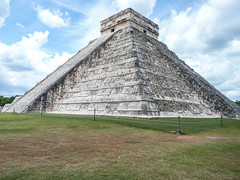 Stairway to the Clouds (angelica061090) Tags: tourism mexico pyramid cancun chichen itza