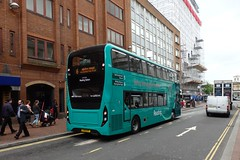 Reading Buses - green goes Emerald (wirewiping) Tags: bus buses reading emerald adl readingbuses enviro400mmc