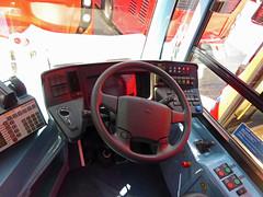 GAL MHV17 - BU16OZE - INTERIOR - BV BUS GARAGE - THUR 28TH APR 2016 P (Bexleybus) Tags: bus london ahead volvo interior cab garage go egyptian controls belvedere drivers bv bodywork mcv goahead evoseti mhv17 bu16oze