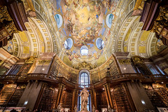 The Prunksaal - explored on 13.05.2016 (_gate_) Tags: vienna wien street art angel austria sterreich europe president wide decke franz josef 28 kaiser archtecture hofburg weitwinkel 14mm prsident nationalbibliothek prunksaal samyang