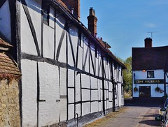 To the pub. (dlanor smada) Tags: pubs oxfordshire halftimbered oxon thame
