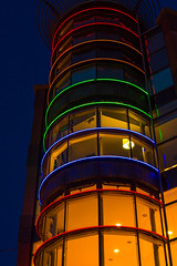 Colours (Matt H. Imaging) Tags: netherlands night nijmegen colours sony nederland bluehour slt a55 sonyalpha gelderand slta55v sal35f18 ©matthimaging